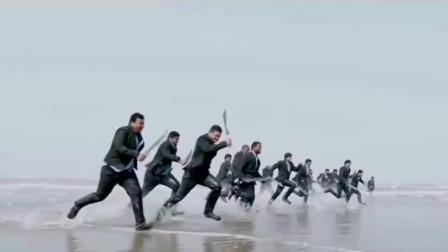 印度动作电影:为救情敌全家性命,猛男沙滩血战上百彪形大汉!