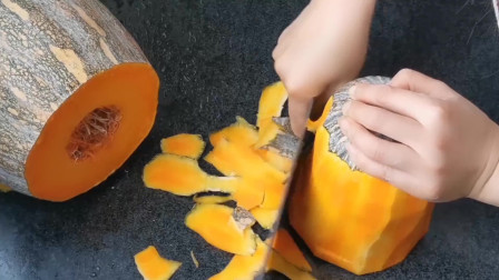 南瓜最简单的做法,不加一滴水,蒸出来口口软甜,小孩老人的最爱