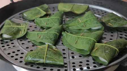 女子传承奶奶手艺做叶贴,为保持老味道专门种树取叶