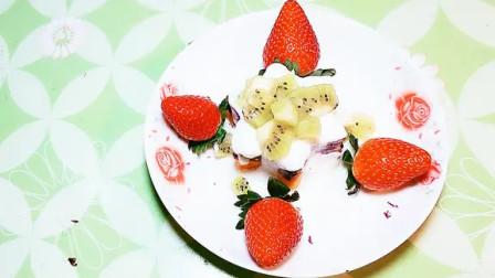 紫薯这样做真好吃,农村小伙教你新做法,四色甜点,年夜饭的硬菜