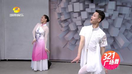 古典广场舞《梅花泪》分解动作教学(二),动作优美好看!