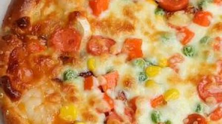 超详细披萨教程➕披萨酱做法#美食趣胃计划