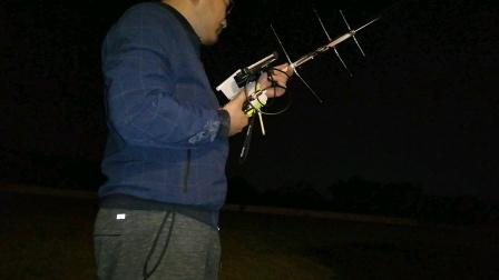 BH5HDE 业余无线电口袋八木打星通联测试