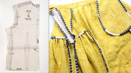 木南雅集 女装基础打版缝纫系列课程预告: 四季之时-- 在银杏树下/ 不规则半裙 课程预告