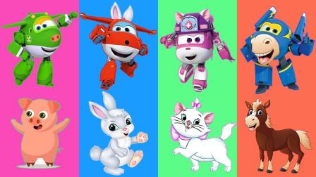 超级飞侠玩具故事:好可爱!酷飞跟小青在扮演哪只小动物?