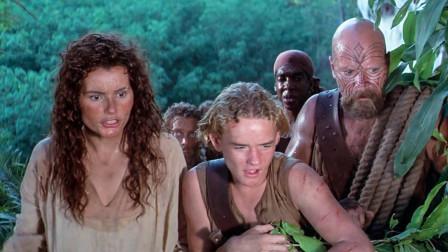 海盗根据古图发现神秘岛,当找到地图标注点,却眼睛发光