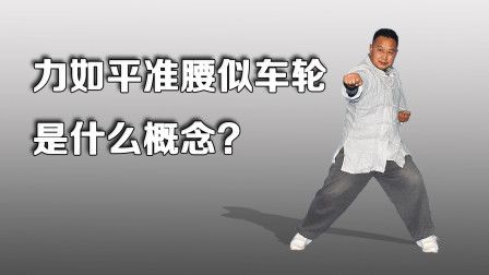 太极拳腰胯核心:力如平准,腰似车轮如何理解?庞恒国老师阐述