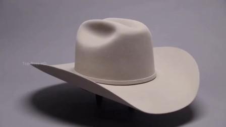 一顶牛仔帽的制造过程,没想到那么复杂,难怪卖那么贵呢