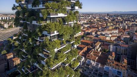 """会""""呼吸""""的大厦,整栋大厦由植物构成,自带空气净化器!"""