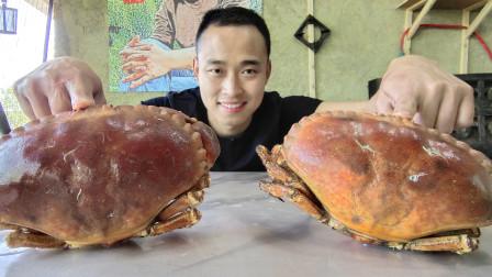 """318买2个""""面包蟹"""",肉质不知怎么形容,越吃越想发火"""