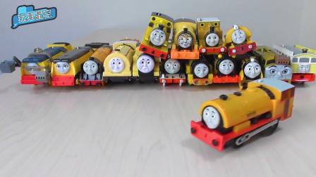 托马斯小火车头培西高登詹姆士男孩玩具