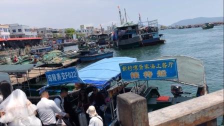 坐标海南陵水清水湾猴岛海鲜市场,时令海鲜价格实拍,便宜到让人不敢相信