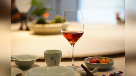 葡萄酒达人,用桃红葡萄酒配淮扬菜,很愉悦