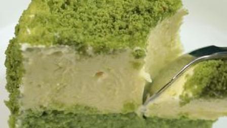北海道双层半烤芝士蛋糕 #美食趣胃计划 一层冻芝士空气感十足一层半烤芝士细腻绵密