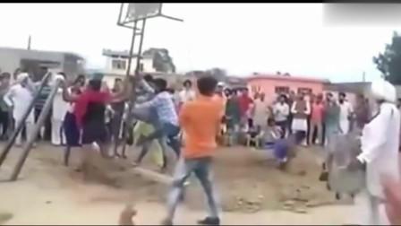 印度高手在民间!在印度这叫跳高,在中国称为轻功!