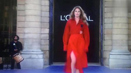 法国巴黎时装周 - 欧莱雅之队列 时装秀,你们见过吗?