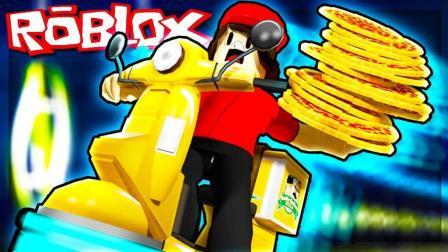 Roblox乐高小游戏小格解说 第二季 披萨店模拟器:小格当经理啦!黄金披萨美食总动员!