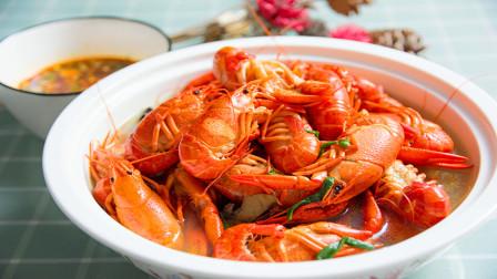 清水龙虾怎么做就能和龙虾馆一样的好吃,淮扬菜大厨来揭秘做法