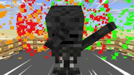 我的世界动画-怪物学院-忍者战士挑战-ROBE CUBE