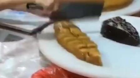 湛江美食松糕籺,橙黄橙黄软趴趴的有那画面让人下不去口