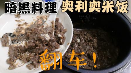 奥利奥饼干还可以做成米饭?小伙尝试一把黑暗料理,不幸翻车