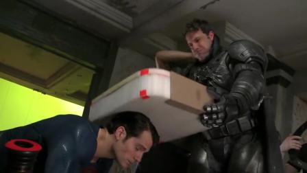《蝙蝠侠大战超人》的幕后花絮,拿泡沫箱子糊弄谁呢