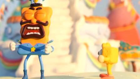 饼干警长:压缩饼干找警找去游乐园,把警长累的够呛