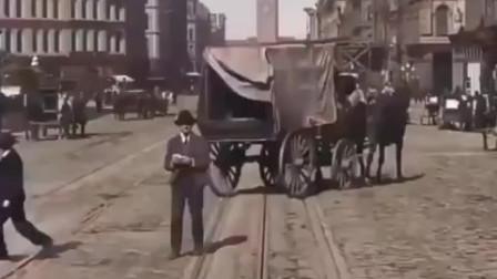 睁眼看世界  20世纪初美国旧金山混乱的交通