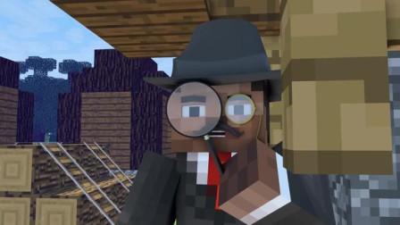 我的世界动画-侦探史蒂夫-Sancho Animation