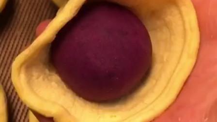 在家支个小吃摊——紫薯蛋挞