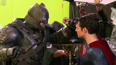 影视:《蝙蝠侠大战超人》的幕后花絮,两人都笑场了