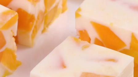 芒果牛奶布丁的制作教程