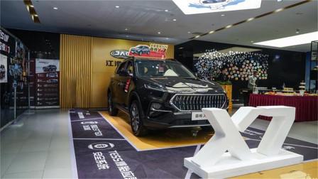 起售价不到9万的中型SUV,实拍江淮嘉悦X7