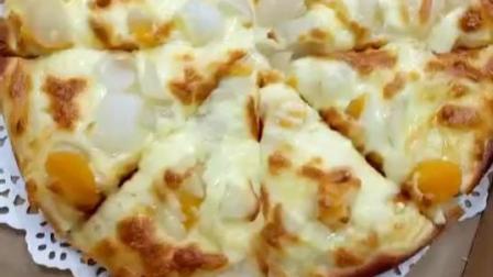 什锦水果披萨,酸甜口感,简单易学