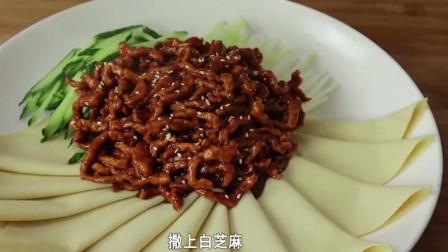 原来京酱肉丝是这样做,酱香浓郁,一看就会