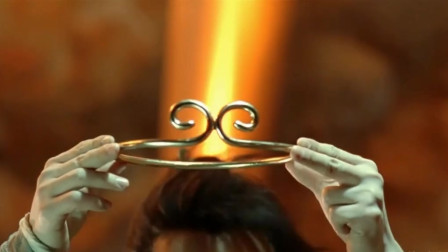 至尊宝戴上金箍儿,变身悟空,紫霞认出定情信物金手铃