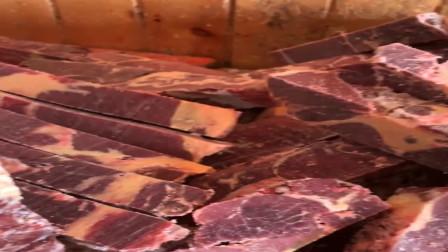 广东食品厂做成品肉,据肉跟据木头一样,这肉屑又打算怎么处理?