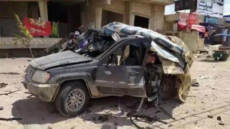以色列再次发动空袭,导弹精确命中越野车,伊朗将军当场身亡