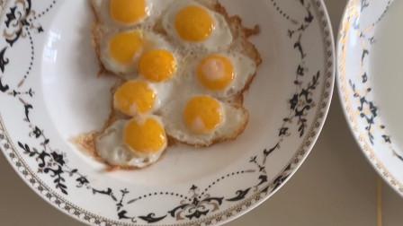 大飞的特色美食,第二期,八个黄的鸡蛋。