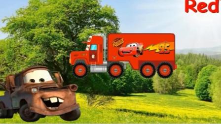 汽车早教卡通 拖车板牙组装超级麦大叔avi