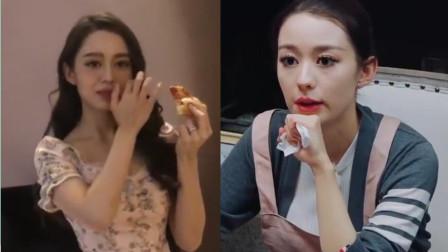 """吉娜""""装优雅""""吃披萨连摆5个造型,高贵钢琴师和东北媳妇,你更喜欢哪一个"""