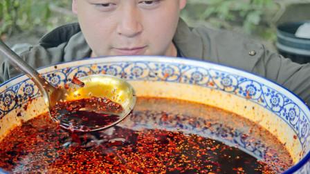 辣椒油重庆人的秘制做法,3种辣椒增色增香增辣,简直凉拌菜灵魂