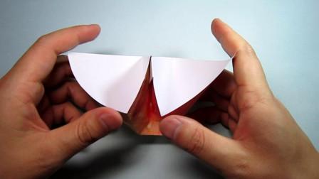 手工折纸,超简单的瓜子收纳盒的折法,步骤详细一学就会