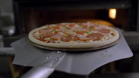 意大利薄饼披萨做法vlog