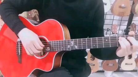 Dadareood达达沃品牌吉他《怒放》