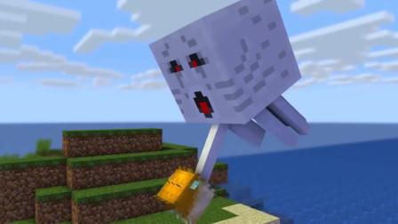 我的世界动画-怪物学院-花式钓鱼-HAIDY MONS