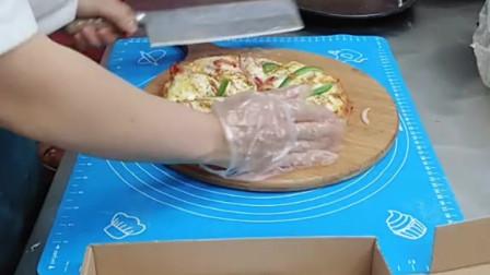 九寸奥尔良烤鸡披萨来了,喜欢吃披萨,关注我