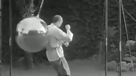 珍贵影像:1934年汪精卫的保镖队长,练习秘传太极的真实画面!