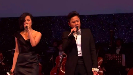 香港众明星纵情合唱《夕阳之歌》,全都到齐了!就为怀念一个人!