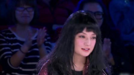 中国达人秀武汉选手披横幅登场赵薇你是刘翔吗苏有朋笑了